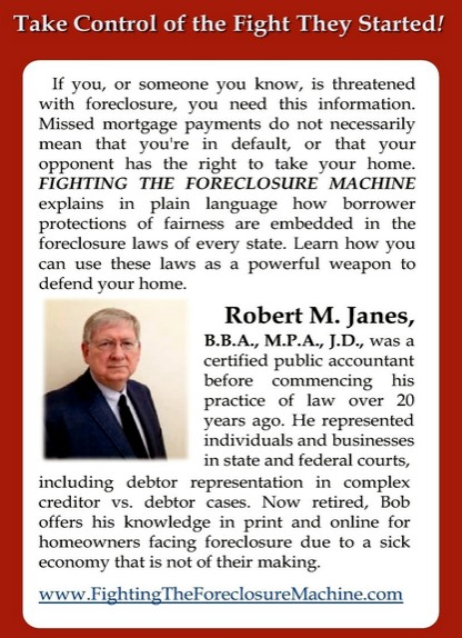 FightingTheForeclosureMachine-com