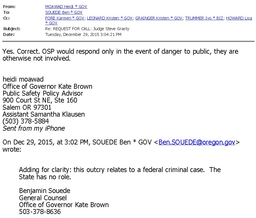 Click this image to access 610 pages of email messages from Gov.KateBrown's office (staff):